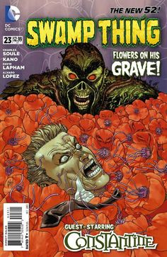 Alec Holland Has To Take Down John Constantine In SWAMP THING #23 Preview