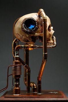 亗 Dr. Emporio Efikz 亗 | The Dream - Mike Cochran #Sculpture #Dark #Steampunk