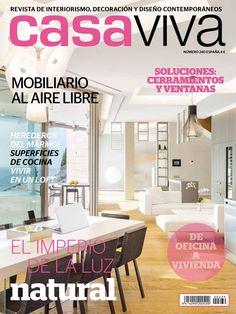 """La revista Casa Viva, publica nuestro proyecto """"Estilo de vida personal"""" en el número 240, mayo 2017"""