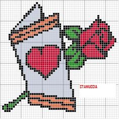Discover recipes, home ideas, style inspiration and other ideas to try. Graph Paper Drawings, Graph Paper Art, Cross Stitch Patterns, Crochet Patterns, Diy Perler Beads, Cross Stitch Heart, Christmas Cross, Cross Stitching, Pixel Art