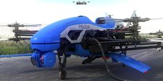 Rio de Janeiro Police Drone by Fausto De Martini | Sci-Fi | 3D | CGSociety