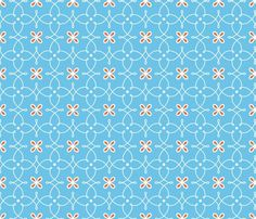 Rfine_curves_blue_shop_preview Paint Shop, Pattern Mixing, Blue Fabric, Paper Beads, Pattern Wallpaper, Textile Patterns, Custom Fabric, Spoonflower, Color Blocking
