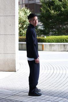 ストリートスナップ新宿 - 岩井 俊輔さん - Camper, ISSEY MIYAKE, イッセイミヤケ, カンペール