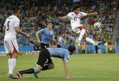 Mi crónica de la gran victoria Tica. Mundial de Brasil 2014 - 14 Junio, Costa Rica vs. Uruguay