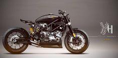 Ducati 999 S 2004 | Felmoto Customs by Holographic Hammer.More Digital Custom here.