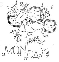 Hand Embroidery Pattern 3067 Birds Fruit for Days by BlondiesSpot, $3.99