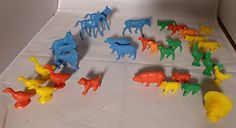 MPC farm animals from Nabisco cereal boxes Farm Animals, Baby Items, Toys, Cereal Boxes, Vintage, Ebay, Activity Toys, Toy, Vintage Comics