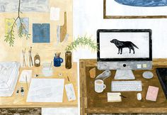 Workspace by Fumi Koike