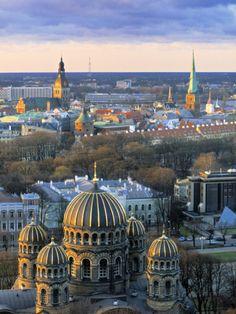 Orthodox Cathedral, Riga, Latvia