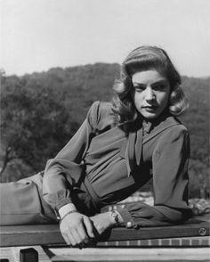 Lauren Bacall, 1945, photo by Ralph Crane