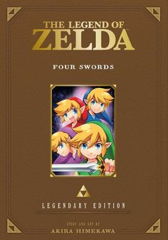 The Legend of Zelda: Four Swords Manga -Legendary Edition- - details   Link must defeat evil at every turn in his perilous quest to help Princess Zelda!  The Legend of Zelda: Legendary Edition contains two volumes of the beloved The Legend of Zelda manga series presented in a deluxe format featuring new covers and color art pieces by Akira Himekawa.  The battle for Hyrule and the Sacred Realm has begun! A young boy named Link must defeat evil on his long perilous quest to find the spiritual…