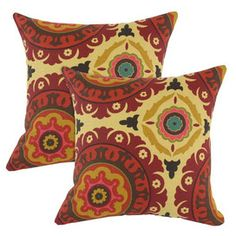 Solar Flair pillows from the Global Inspiration - Exotic Rugs, Pillows & Occasionals event at Joss and Main!