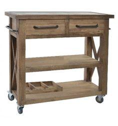 Camarera madera Rustic