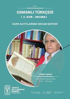 Osmanlı Türkçesi 2.Kur-Okuma Kursu kayıtlarımız devam ediyor.: