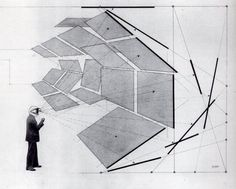 Diagram of the Field of Vision | by Herbert Bayer, member of the Bauhaus movement, 1930