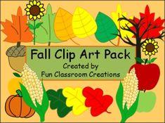 Fall Clip Art Pack