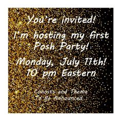 My First POSH PARTY!! Please join me 7/11! Please join me for my first Posh Party!! Monday, July 11 - 10pm Eastern  I'm so excited and looking forward to seeing all your closets! Please share with me your PFFs that have Posh compliant closets with clear and fabulous cover shots! I hope you'll all join me for a fabulous evening! Let's have some fun!! ❤️❤️ Tory Burch Dresses