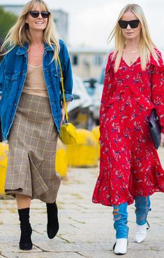 The Fashion Week outfit we can't get enough of. Channel your favorite street style stars with this look.