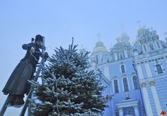 Christmas in Kiev, Ukraine, rich in culture and tradition.