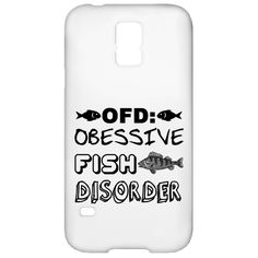 OFD Obsessive Fish Disorder Galaxy S5 Cases