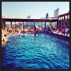 Shoreditch House, E1. | 17 Splendid Places For Outdoor Swimming In London