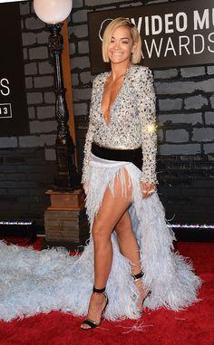 Rita Ora from 2013 MTV Video Music Awards Red Carpet Arrivals | E! Online #VMAs