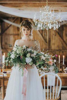 Romantic Farm Wedding Inspiration | Wendy Tam Photography | My Little Ladies Farm and Design Co.