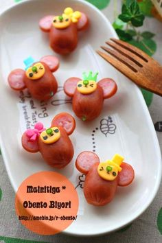 sausage monkeys ♥ Bento