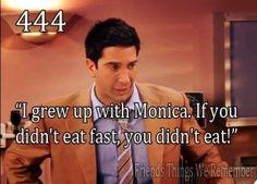 Haha, I love Ross.