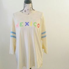 Wildfox Mexico tunic Loose fit, light weight, perfect casual top Wildfox Tops Tunics