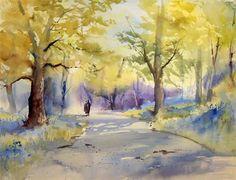 Bluebell Woods - Arnold Lowrey - WetCanvas