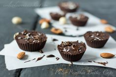 Okay, not exactly paleo but. Gluten and Dairy Free Pumpkin Butter Cups. So simple and AMAZING. Gluten Free Sweets, Paleo Sweets, Paleo Dessert, Dairy Free Recipes, Real Food Recipes, Dessert Recipes, Paleo Recipes, Candy Recipes, Pumpkin Recipes
