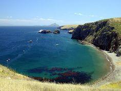 sant cruz island, ca   Panoramio - Photo of Scorpion Cove Santa Cruz Island, CA