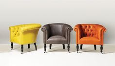 A material change � bright new sofa and chair collections from Fleming and Howland