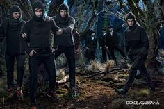 Dolce  Gabbana Men Fall/Winter 2014 Advertising Campaign image dolce and gabbana winter 2015 men advertising campaign 051 800x534
