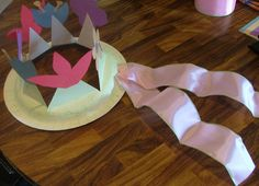 easter bonnet finished step How to Make a Spring Easter Bonnet, Hat, or Flower Crown with Your Kids