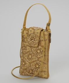 Gold Jewel Beaded Wristlet   Daily deals for moms, babies and kids