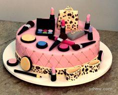 Bolo Maquiagem | Tortas e bolos > Receita de Bolo | Malhação - Receitas Gshow