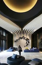 Résultats de recherche d'images pour «black and white lobby design interiors best office lobby design futurist»