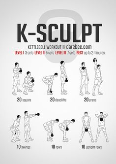 K-Sculpt Workout More