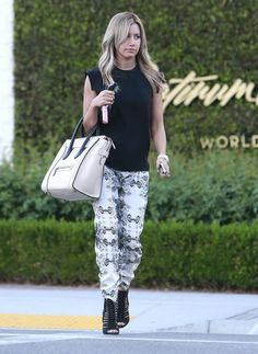 Ashley Tisdale - Ashley Tisdale Shopping In Beverly Hills