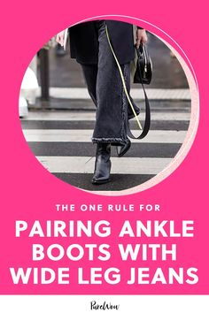 The easy combat boots and simple ballet flats you regularly paired your skinnies with don't look quite right when worn with the voluminous silhouette of wide-leg jeans. Here are the shoes you should wear instead.