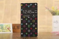 """Bracket protective case leather cover window open for iphone6 4.7"""" /iphone6 plus 5.5"""""""