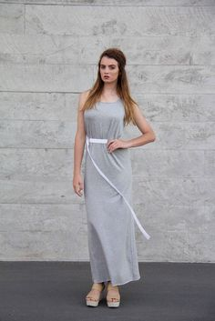 Women's Summer Fashion, Fast Fashion, Womens Fashion, Brazil Nut, Rustic Fabric, Indie Fashion, Maxi Dresses, Knit Dress, Chambray