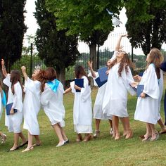 Graduation at Marymount International School Rome