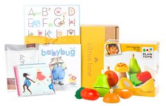 Play to Learn. Packed with toys that grow along with your baby! Use code PINTEREST for 40% OFF off your 1st box.