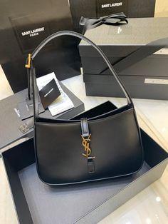 Ysl Saint Laurent new hobo shoulder bag black Ysl Bag, Saint Laurent Bag, Luxury Bags, Hobo Bag, Other Accessories, Everyday Fashion, Exercise, Shoulder Bag, Handbags