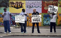 California police chief joins police brutality protest with #BlackLivesMatter sign