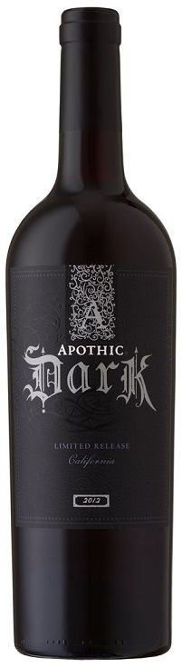 Apothic Dark Limited Release. Complex, chocolate with hint of berries