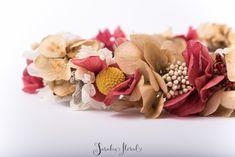Coronas de Flores Secas, Preservadas o Liofilizadas